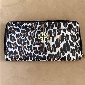 Tory Burch Leopard Wallet
